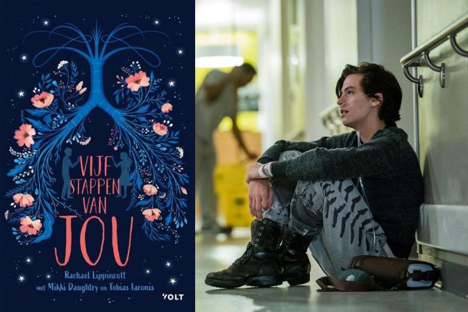 'Vijf stappen van jou' van Rachael Lippincott (Five Feet Apart)