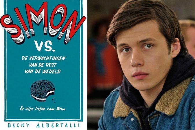 'Simon vs. de verwachtingen van de rest van de wereld & zijn liefde voor Blue' van Becky Albertalli (Love, Simon)
