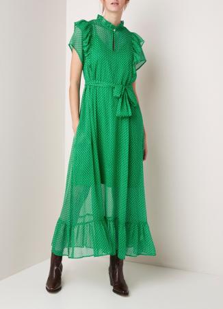 Maxi-jurk met stippen