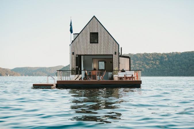 Drijvende villa, Australië