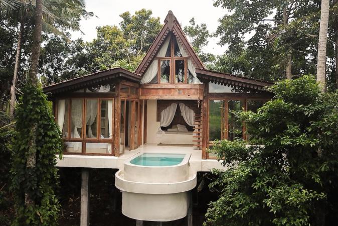 Dromerige boomhut, Bali