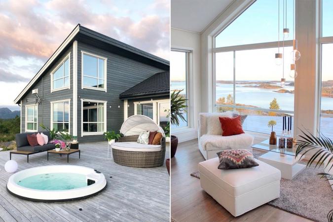 Scandinavisch huis, Noorwegen