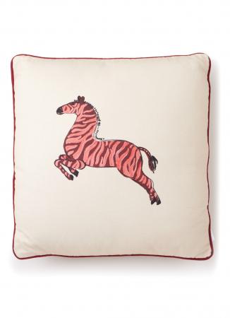 Kussen met zebra