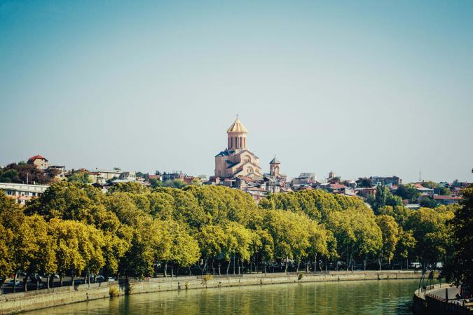 Tbilisi, Georgië