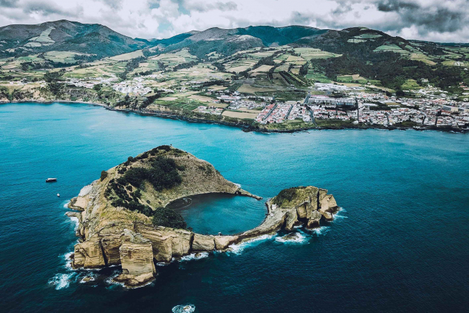 De Azoren, Portugal