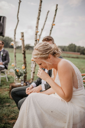De ceremonie