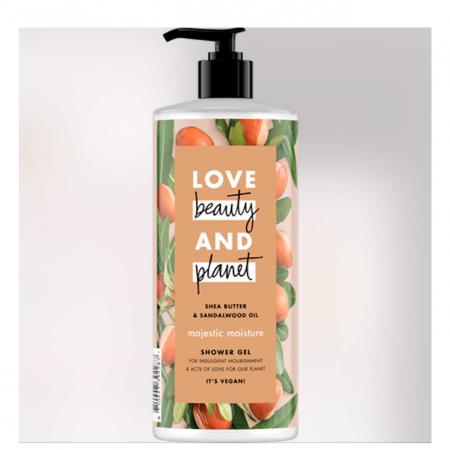 Douchegel van Love Beauty and Planet
