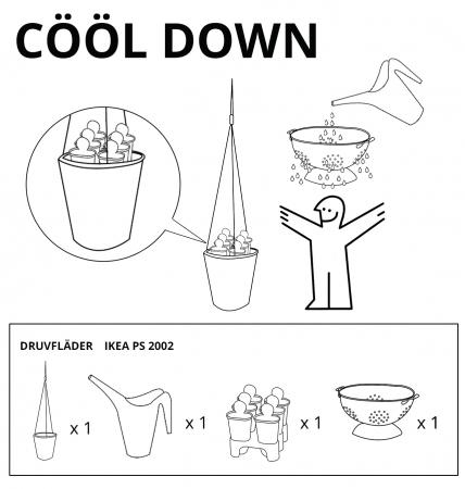 CÖÖL DOWN : pour une douche original