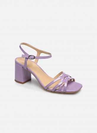 Laqué sandalen in lila