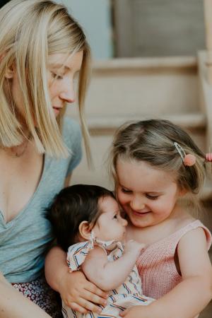 Annelies, Ellie en Jutta