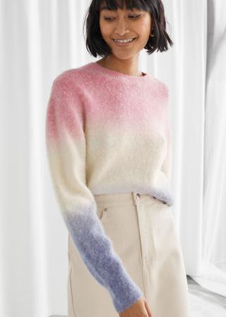 Driekleurige trui