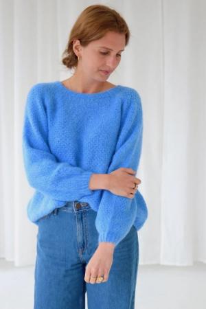 Blauwe trui