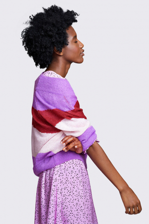 Multicolor trui