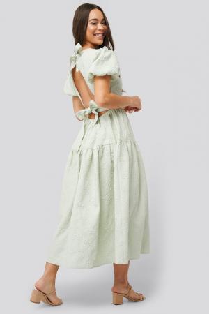 Pistache jurk
