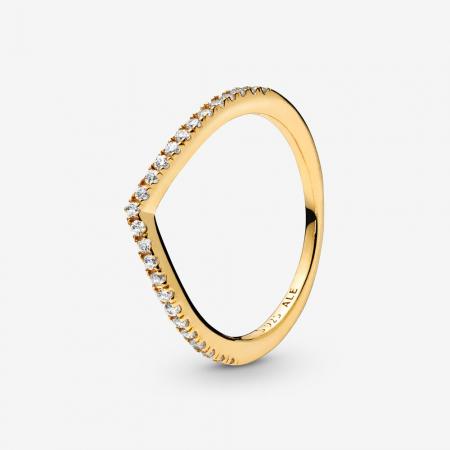 Geometrische ring met steentjes