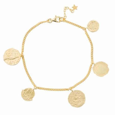Armband met munten