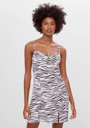 Jurk met zebraprint