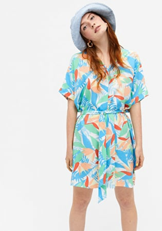 Kaftan mini-jurk