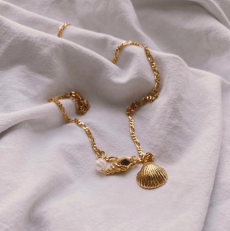 Pendentif en argent plaqué à l'or fin