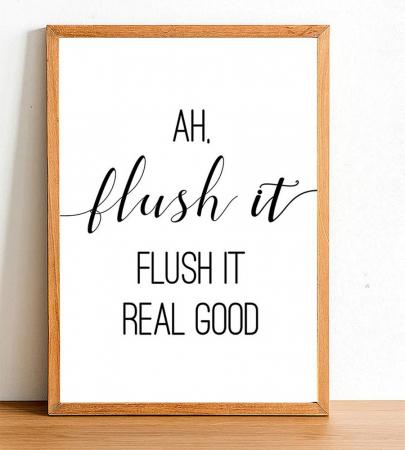 <em>Flush it real good.</em>