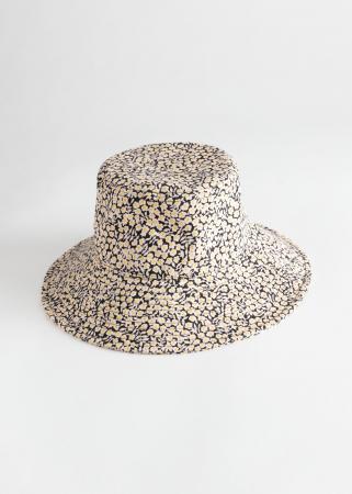 Bucket hat met madeliefjes