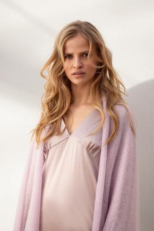 Lavendelkleurige sjaal