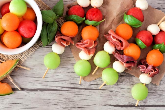 Boules de melon
