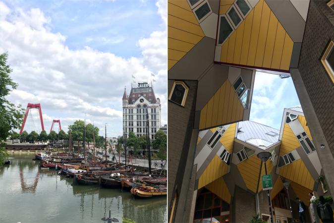 Oude Haven + Kubuswoningen + Markthal