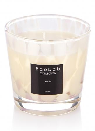 Bougie parfumée 'White pearls'