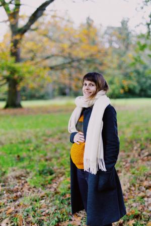 Ongeveer 28 weken zwanger