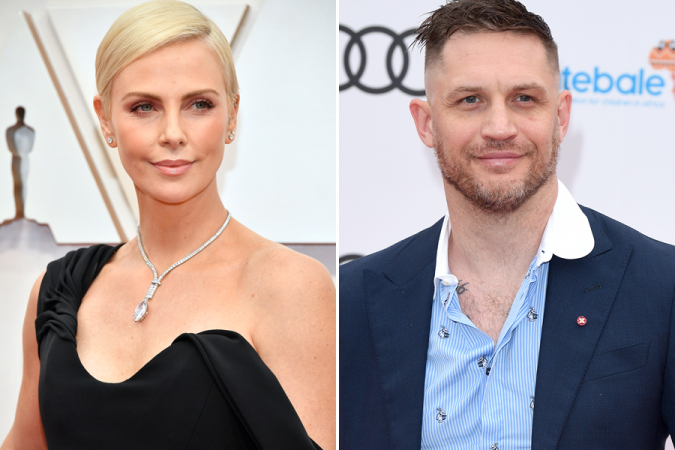 Charlize Theron et Tom Hardy – Mad Max : Fury Road