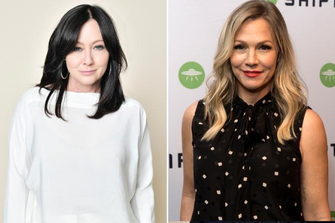 Shannen Doherty et Jenny Garth – Beverly Hilles 90210