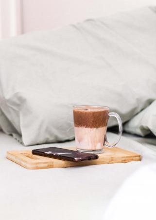 Dalgonakoffie met Nutella