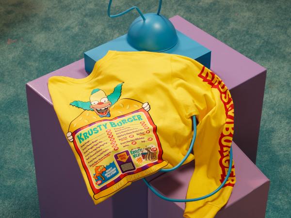 T-shirt Krusty Burgers