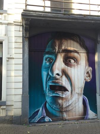 Les oeuvres street art à Hasselt