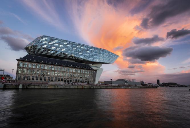 La nouvelle Havenhuis à Anvers