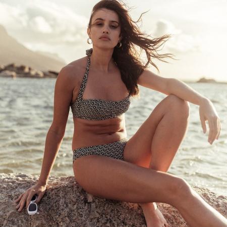 Bikini met grafisch print