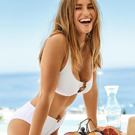 Witte bikini