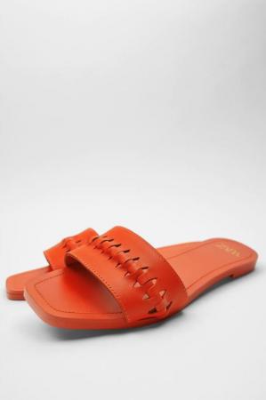Oranje slippers