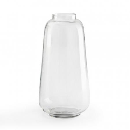 Doorzichtige vaas