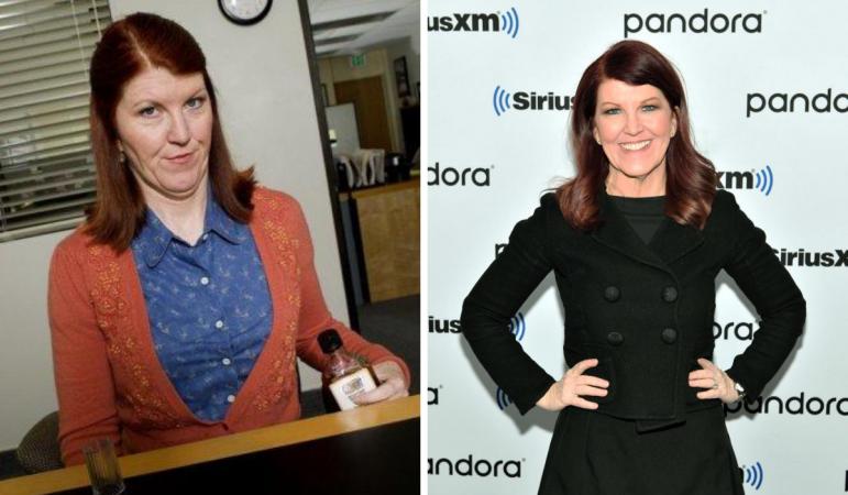 Kate Flannery alias Meredith Palmer