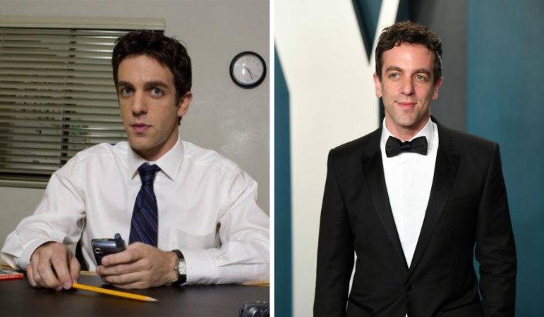 B.J. Novak alias Ryan Howard