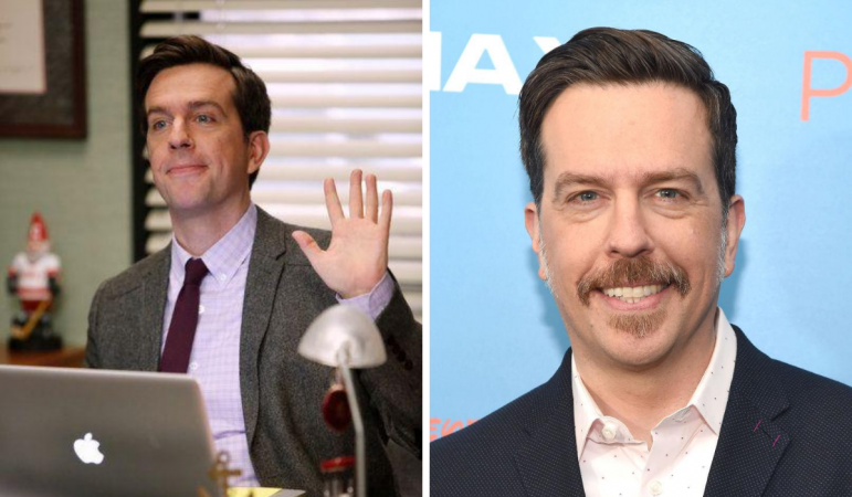 Ed Helms alias Andy Bernard