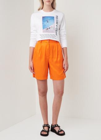 Oranje short