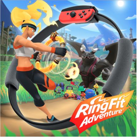 Ring Fit Adventure voor Nintendo Switch