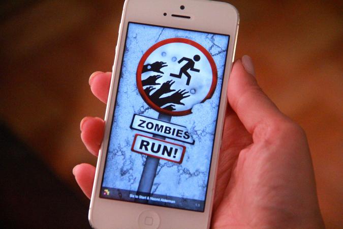 Zombies, Run! voor iOS en Android