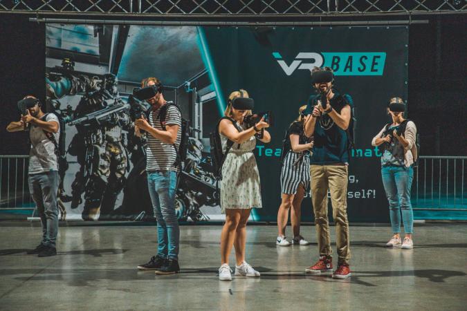VR Base in Mechelen of Lint