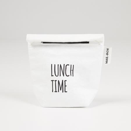 Lunchzakje uit wasbaar papier