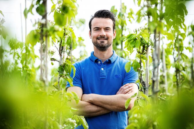 David (37) is perenkweker en komt uit Sint-Gillis-Waas (Oost-Vlaanderen).
