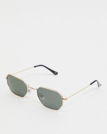 Hexagonale zonnebril